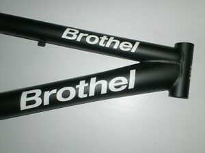 bike bmx frame brothel 20 , m1 strenght - new - made in europe