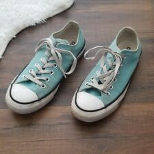 Converse All Stars Light Blue Low Top Shoes Womens 7 Mens 5