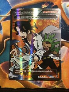 [Pokemon TCG]Professor Sycamore (Ultra Rare - Foil/Holo Full Art) Steam Siege NM