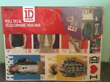 One Direction 8 Wall Decals Locker Girls Bed Room 1D Music Decor Peel n Stick