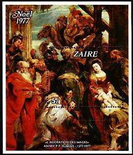 Zaire 1977 ** Bl.16 Gemälde Paintings Rubens [sp506]