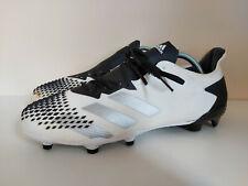 White ADIDAS Predator Mutator 20.2 Grip Moulded Football Boots FG - UK Size 10