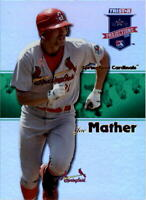 2008 TRISTAR PROjections Reflectives Green #382 Joe Mather /50 - NM-MT