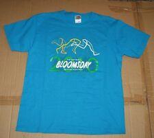 2010 Spokane Bloomsday run race volunteer blue ss cotton t-shirt sz M