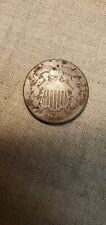 1864 Two Cents Piece Coin (Raw423)