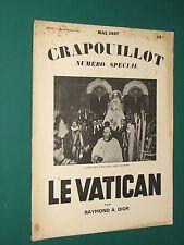 Le Crapouillot Mai 1937 Le Vatican