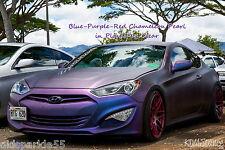Blue-Purple-Red Chameleon Kameleon Color Changing Pigment Pearl Plasti Dip Clear
