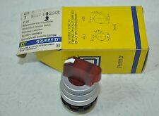 Square D Red Illuminated Selector Switch Model# D3G5XR