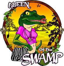 swamp people, queen of the swamp decal