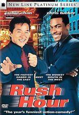 Rush Hour (DVD, 1999, WS) Brand New & Ships FREE! Chris Tucker & Jackie Chan