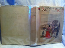 Compleat Angler by Isaak Walton FIRST ED W COLOR PLATES