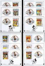 👉 Disney = Bhutan = Mickey collection x12 different S/S Mnh