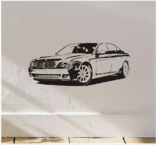 BMW Car Vinyl Wall Art Sticker Decal Boys Bedroom Decor
