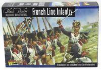 Black Powder WGN-FR-09 French line Infantry (1807-1810) Napoleonic Wars Warlord