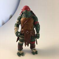 2014 Playmates Toys Teenage Mutant Ninja Turtles TMNT Movie Raphael Loose Figure