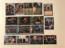 PROMO CARDS: STARGATE SG-1 & ATLANTIS & CCG (Various Releases): 16 DIFFERENT