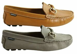 Andacco Miranda Womens Comfortable Leather Loafers Made In Brazil