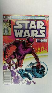 STAR WARS #58 1st Printing - Newsstand Cover                / 1982 Marvel Comics
