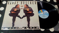 "Randy Brecker ‎""Toe To Toe"" LP MCA-6334 - US 1990"