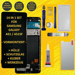 Display Set für Samsung Galaxy A51 A515F LCD Touch Screen Bildschirm Vormontiert