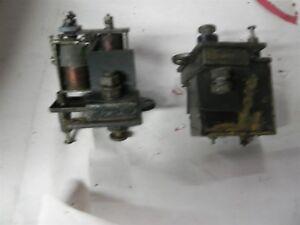 1920S BRASS ERA BUICK CADILLAC PIERCE ARROW PACKARD 6-8V SWITCH ANTI-STALL 2X