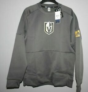 Adidas NHL Vegas Golden Knights Game Mode Long Sleeve Mens Sizes New $75