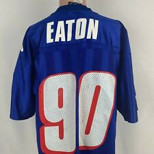 Adidas Chad Eaton New England Patriots Replica Jersey Vtg 90s NFL Home Size L