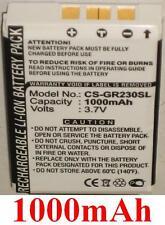 Batterie 1000mAh type 300-203712001 Pour Holux GR-231 GPS Receiver