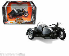 2015 Maisto 1:18 Motorcycles Harley Davidson 1948 FL Panhead W Sidecar 03174 new