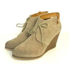 PEPE JEANS Ankle- Boots Stiefelette Wedges Keilabsatz Beige  Gr. EUR 40 (SR43)