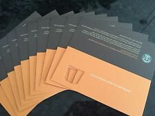 20 STARBUCKS Recovery Certificate Card Voucher FREE Any Size Drink NO Exp Date!