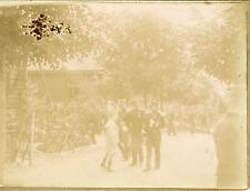 France, Vosges, Bussang, Sidi-Brahim  1898 vintage citrate print Vintage citrate