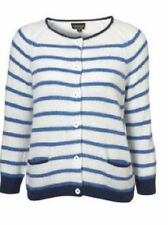 Topshop Hip Length Striped Jumpers & Cardigans for Women