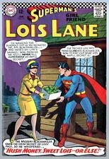 SUPERMAN'S GIRL FRIEND LOIS LANE # 71 Batman Robin cameo 2nd App CATWOMAN 1967