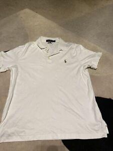 Ralph Lauren Slim Fit Polo Shirt Sz Large Rrp £110