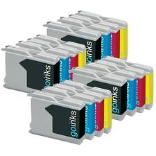 16 Ink Cartridges (Set) compatible with Brother MFC-260C MFC-5860CN MFC-240C