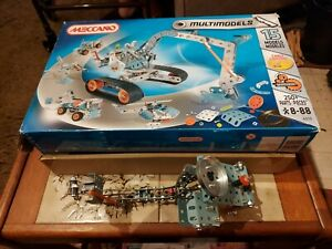 MECANNO  MULTIMODELS 15 MODEL'S PREOWNED NO INSTRUCTIONS VGC SEE PHOTOS