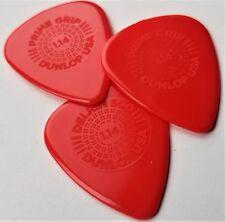 JIM Dunlop 450 1.14 Prime Grip Delrin 500 Guitar Picks, 3-Pack