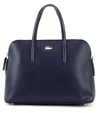 LACOSTE Chantaco Small Bugatti Bag Tasche Handtasche Blau