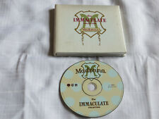MADONNA The Immaculate Collection CD LIMITED Edition SATIN BOOK rare 2-26464