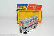 DINKY TOYS 289 ROUTEMASTER BUS WOOLWORTH SILVER MINT BOXED PROMO RARE SELTEN