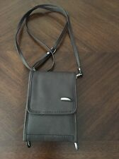 Travelon Cross Body Travel Purse Organizer Wallet Brown bag EUC fast shipping