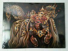 Painting Bali Dance 80x60cm Barong Ket