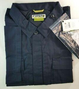 NWT First Tactical Men 3XL Specialist Short Sleeve BDU Shirt Midnight Navy New