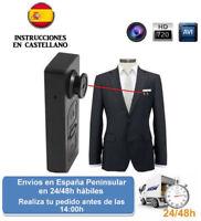 Boton videocamara camara oculta grabacion espia (Envio express)