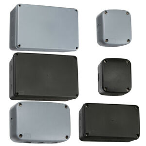 Weatherproof Junction Box Outdoor IP66 Electrical Cable Enclosure Waterproof