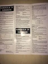 Notice Ghouls'n'Ghosts (Ghost'n Goblins 2) Atari St