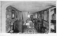 RPPC The Hallway @ Longfellow's Wayside Inn South Sudbury, Massachusetts~110756