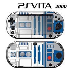 Vinyl Decal Skin Sticker for Sony PS Vita Slim 2000 Star Wars R2-D2
