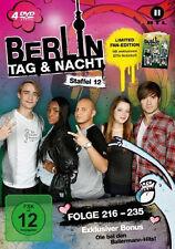 4 DVDs * BERLIN - TAG & NACHT - STAFFEL 12 (LIM. FAN EDITION) # NEU OVP &